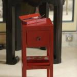 meuble peint, imitation laque