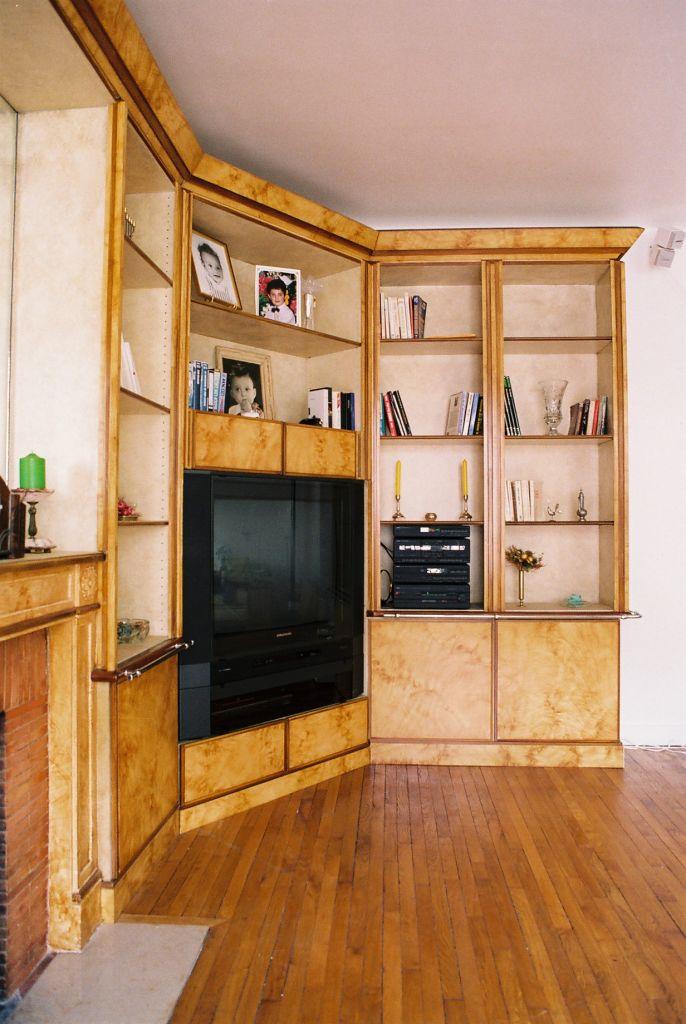 faux bois de style annees 30 peintres d corateurspeintres d corateurs. Black Bedroom Furniture Sets. Home Design Ideas