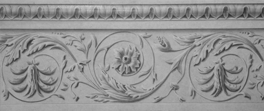 Frise en trompe l 39 oeil peintres d corateurspeintres - Frise murale en bois ...