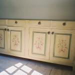 meuble peint, style provençal