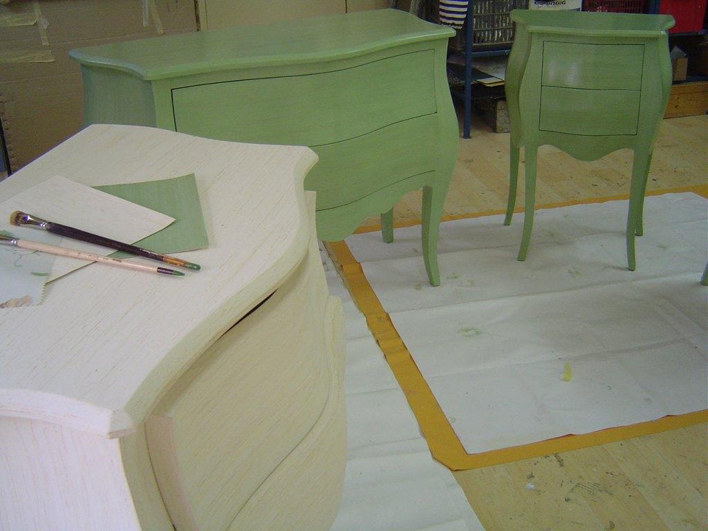 Meubles peints patines peintres d corateurs for Meubles peints patines