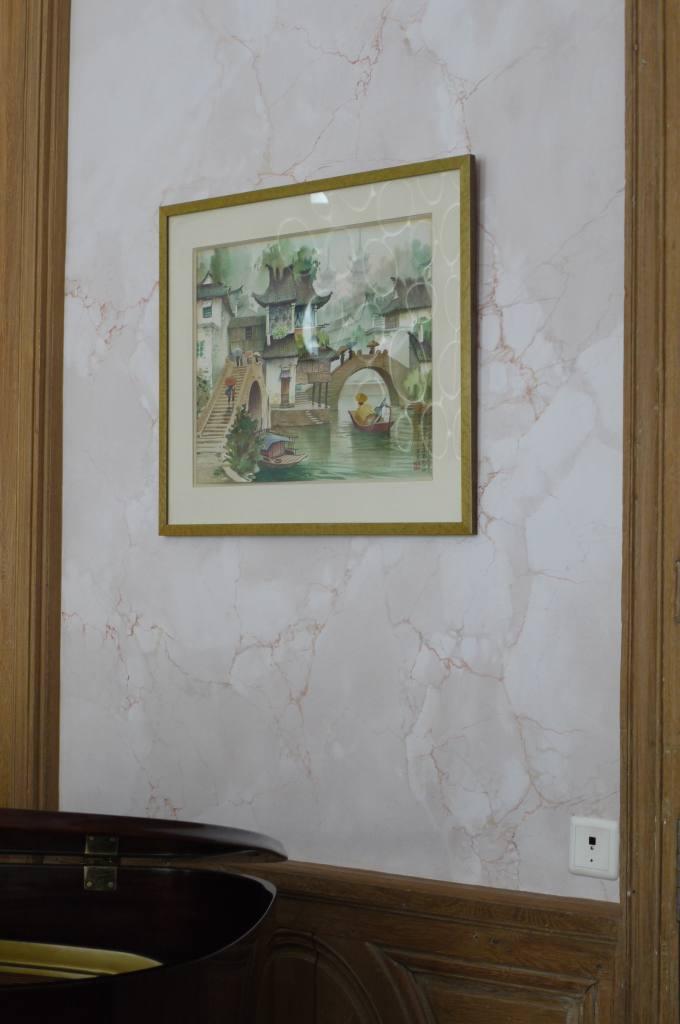 faux marbre et faux bois dans un salon xviii me siecle peintres d corateurspeintres d corateurs. Black Bedroom Furniture Sets. Home Design Ideas