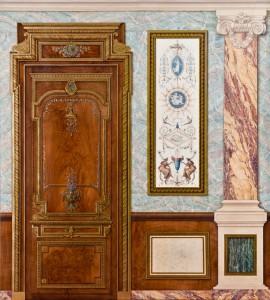 Decor Neo Classique Presente Par Joelle Godefroid Peintres Decorateurspeintres Decorateurs