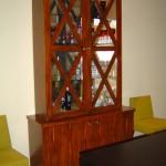 meuble peint faux bois ébène macassar