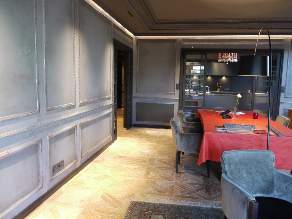 decor peint plafond de style baroque peintres d corateurspeintres d corateurs. Black Bedroom Furniture Sets. Home Design Ideas