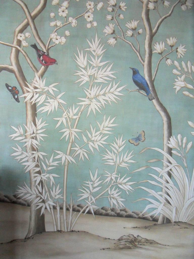 Decoration Peintre Satinée : Trompe l oeil décor mural de christophe rage peintre en