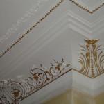 dorure ornements plafond