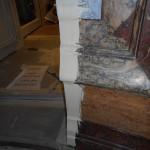 Stuc marbre restauration