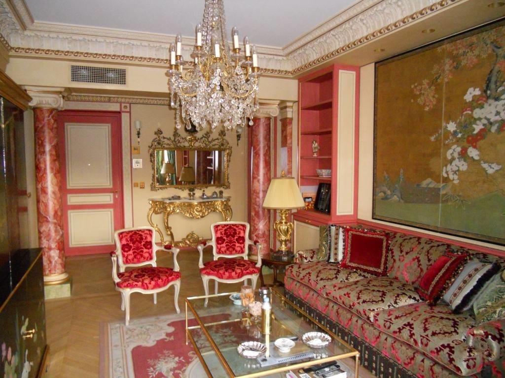 D cor peint peintres d corateurs - Decoration marbre salon ...