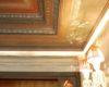 DÉCOR PEINT BAROQUE :  décor de frises et corniches
