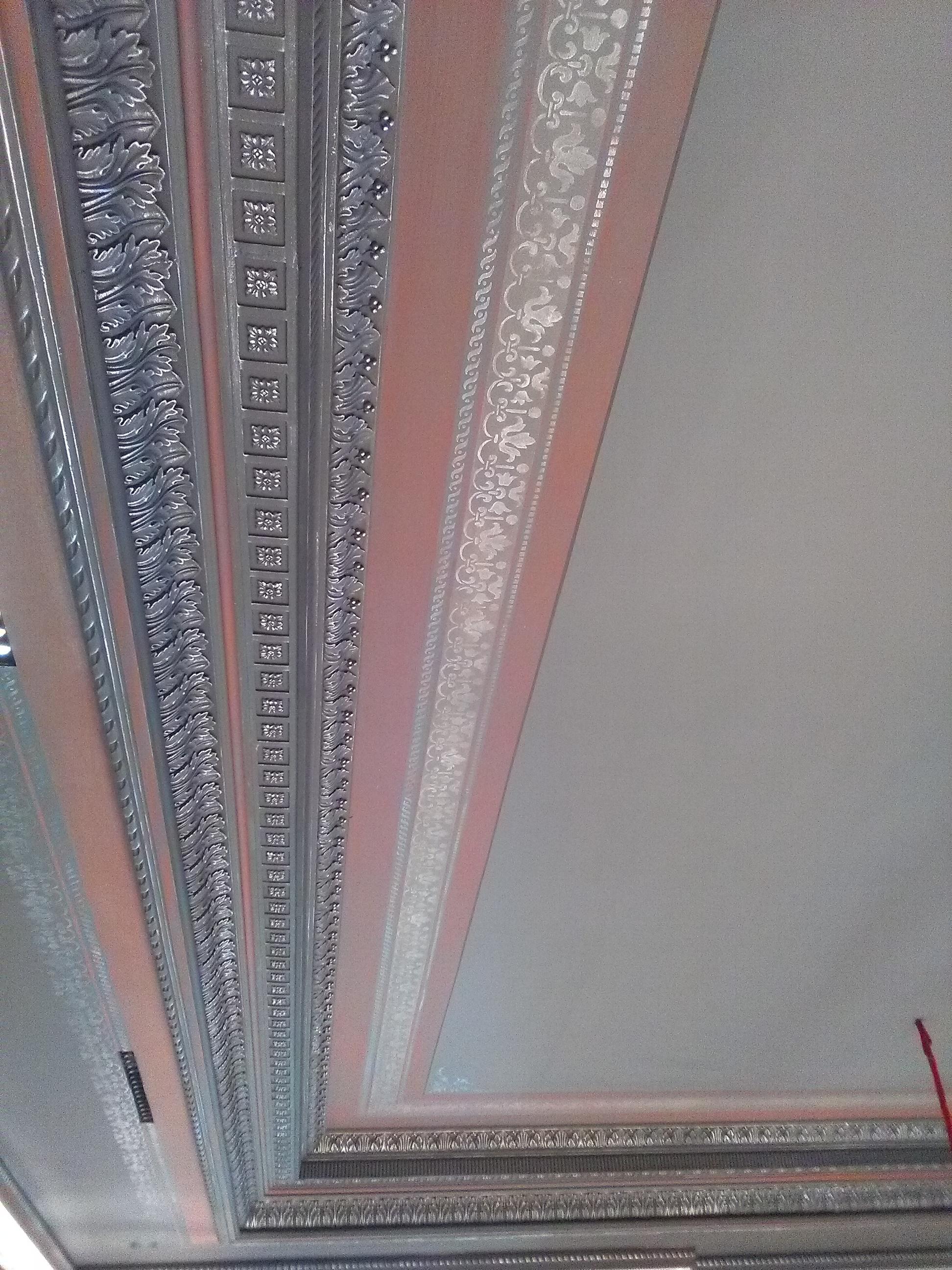 D Cor Peint Baroque Sur Le Plafond D Une Salle Manger Peintres