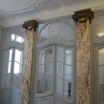 Colonnes faux marbre