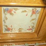 Restauration de décor peint d'un plafond