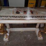Restauration de meuble peint ancien